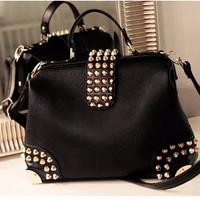 Tas Fashion Wanita Import Style Korea Tas Hitam Hand bag Wanita B4866