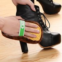 Semir Sepatu Kulit / Leather Shoe Polish terbuat dari wool imitasi