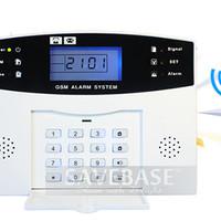 Best Deal Alarm LCD Wireles & Wired Berbasis GSM Untuk Keamanan Rumah