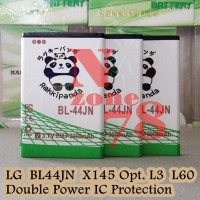 Baterai LG BL-44JN LG Optimus Black P970 L5 Rakkipanda Double Power