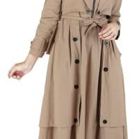 Jual Baju Dress Wanita Muslim / Gamis Pesta Cotton Cantik - EROK 031 Murah