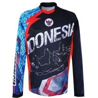 Jersey sepeda Timnas indonesia bahan Soft DryFit   baju sepeda mtb