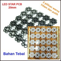 Star PCB utk LED 1w / 3w