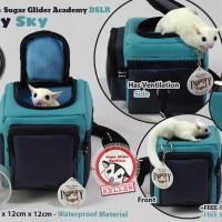 Sugar Glider Academy Travel Bonding Pouch DLSR Navy Sky