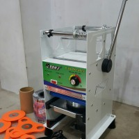 Cup Sealer Mesin Press Gelas ET-D1 u/ Gelas Tinggi Jumbo 22 Oz + Roll