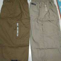 Jual Sirwal Celana Cingkrang Banyak Kantong Panjang 78cm Bahan Adem Murah
