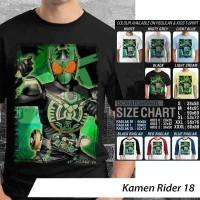[DISKON] Kaos Kamen Rider 18 - Distro Ocean Seven