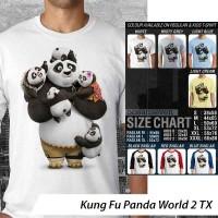 [DISKON] Kaos Kung Fu Panda World 2 TX - Distro Ocean Seven