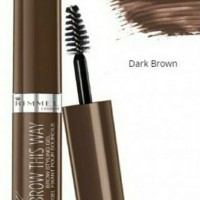 RIMMEL LONDON Brow This Way Eyebrow Gel