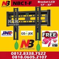 Breket Bracket Brecket TV LCD LED NBC1-F North Bayou BREKET LCD LED TV