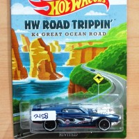 HOT WHEELS RIVITED BLUE HW ROAD TRIPPIN'