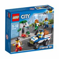 LEGO City - 60136 Police Starter Set Building Toy Town Cop ATV Car Dog