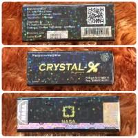 Jual Crystal X versi lainnya - Crystal-X versi 3 Murah