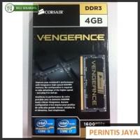 Jual Memory Laptop CORSAIR Vengeance 4GB DDR3 - 1X4GB (CMSX4GX3M1A1600C9) Murah