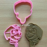 Paw Patrol Zuma Cookie Cutter