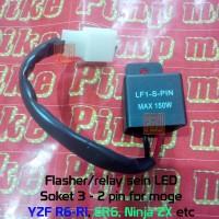 Flasher Relay Sein LED Moge R1 R6 MT CBR 600 1000 RR ER6 N/F Ninja ZX