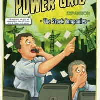 Power Grid: The Stock Companies Expansion Board Game