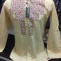Termurah baju koko lengan panjang modern bordir mewah preview itang yu