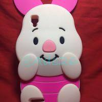 Case 4D Piglet Oppo Neo 9/ A37 /Karakter/Softcase/3d/Rubber
