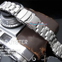 22mm Rantai MILTAT Hexad Oyster Solid for Seiko Skx007 SKX009 SKX0011
