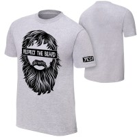 Tshirt / Kaos Daniel Bryan Respect The Beard WWE