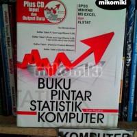 Buku Pintar Statistik Komputer (Plus CD Input) - Duwi Priyatno