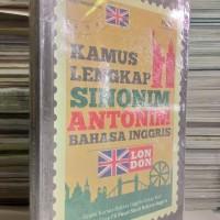 Kamus Lengkap Sinonim dan Antonim Bahasa Inggris