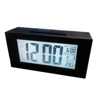 Jual Jam Alarm Weker LCD 11 x 5 cm Digital Layar Besar + Sensor Cahaya Murah