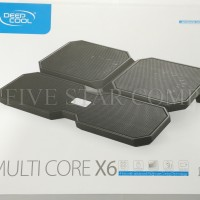Kipas laptop Coolpad Cooling Fan / Coolingpad Deep Cool Multi Core X6