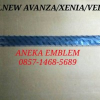 harga [ Original ] Karet Pintu Luar/karet Pelipit Avanza/xenia/veloz 2012 Up Tokopedia.com