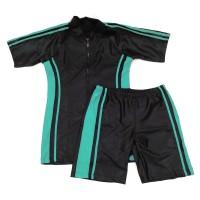 Baju Renang Dewasa Setelan Celana Diving Pria Wanita Hitam - Mint CH9