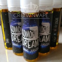 Jual KOMODO DREAM LIVING JURASSIC 60ML / 3MG . Premium Local Liquid Murah