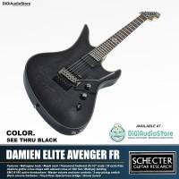 Guitar Electric SCHECTER DAMIEN ELITE AVENGER FR / Gitar Elektrik STBK