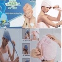 Jual Handuk penyerap air - hair wrap magic towel murah Murah