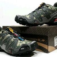 Sepatu Pria Adidas Salomon Camo Green Tracking Premium Quality