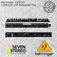 Behringer CX2310 High Precission Crossover with Subwoofer Out