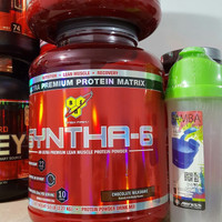 BSN Syntha6 syntha 6 whey protein time release casein nitrotech combat