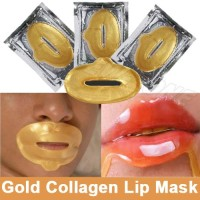 Masker Bibir / Gold Collagen Lip Mask Baru | Produk Makeup Wajah