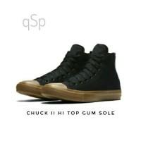 harga Sepatu Pria Converse High Black Chuck Taylor Ii Sol Gum Kets Sneakers Tokopedia.com