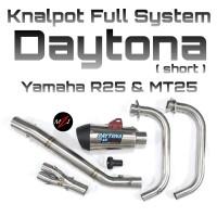 Knalpot Daytona Yamaha R25 -bkn Prospeed Akrapovic Leovince RX8 WRX R9