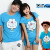 baju couple kaos couple family couple-Family Doraemon 2