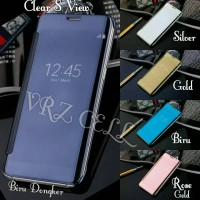 Flip Cover Clear S View Samsung Galaxy A5 2017 New A 5 Flip Case Miror