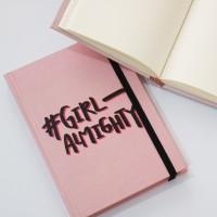 Buku Tulis Polos - Buku Catatan - Notebook Girl Almighty