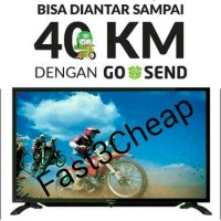 PROMO GILA! GOJEK! SHARP LED TV 32 INCH 32LE185I aquos ready usb movie