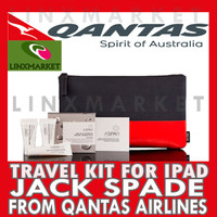 TRAVEL KIT JACK SPADE FROM BUSINESS CLASS QANTAS AIRLINES
