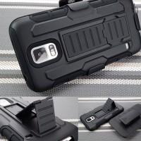 Samsung S5 Active TPU Future armor bumper casing sarung hard soft case