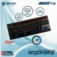 Jual Keyboard Gaming Rexus MX5 TKL Mechanical Aluminium Legionare Murah