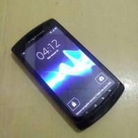 HP Sony Ericsson Xperia Neo L MT25I Black Normal Batangan