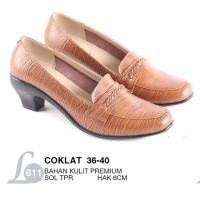 Sepatu Kulit / Sepatu Casual Wanita | Kode L611