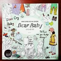 Dear Baby Colouring Book